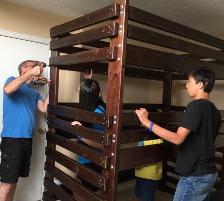 Assembling Bed #2