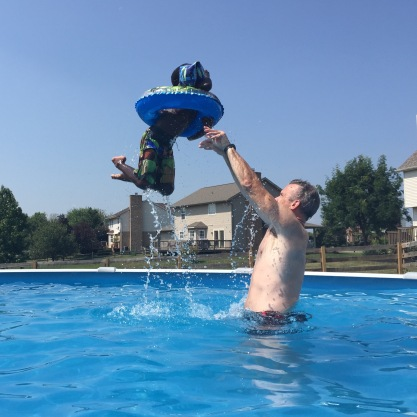 Vacation - Kid Toss 9-6-15 #5