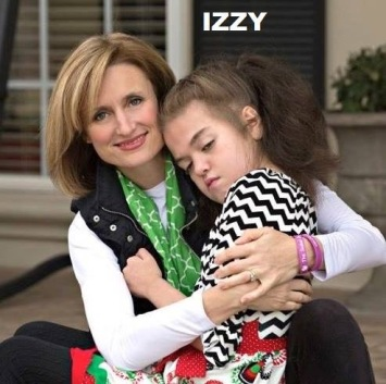 Izzy and her precious mommy