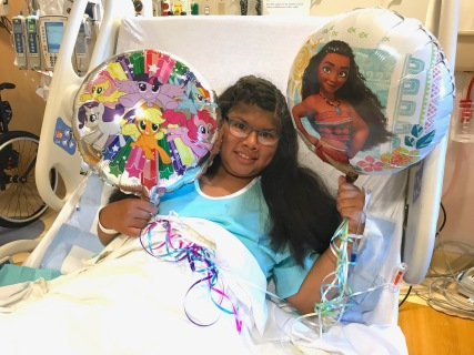 Kathryn's Surgery - Balloons