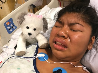 Kathryn's Surgery - Running Fever and Spasms