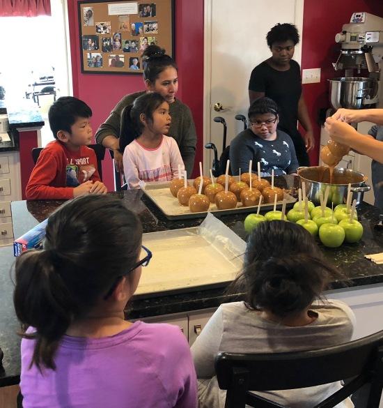 Making Caramel Apples 10-28-18 #2