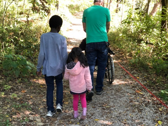 Park with 9 Littles 10-11-18 #3