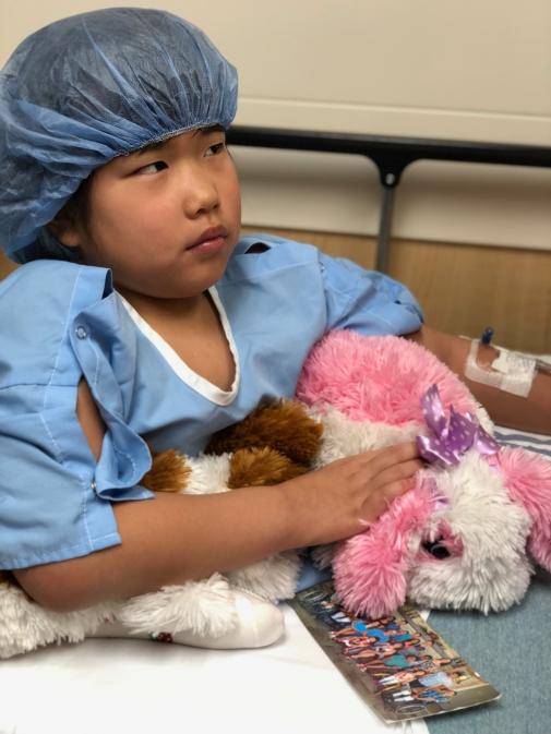 Lilyan's Spine Surgery - Pre-op