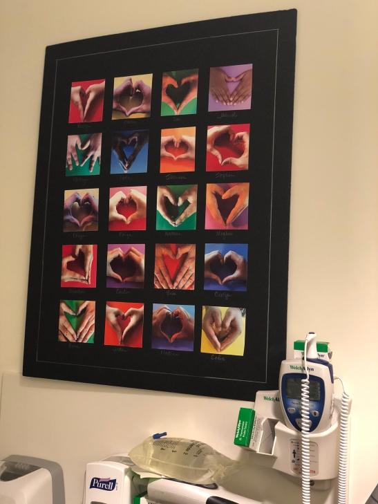 Hand-Heart Art for Lilyan 4-10-19 #2